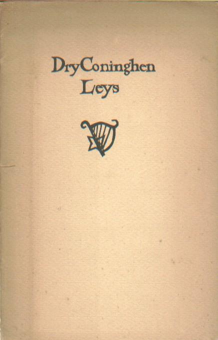 (ANONIEM) - Dry Coninghen Leys.