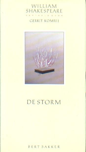 Shakespeare, William - De storm.