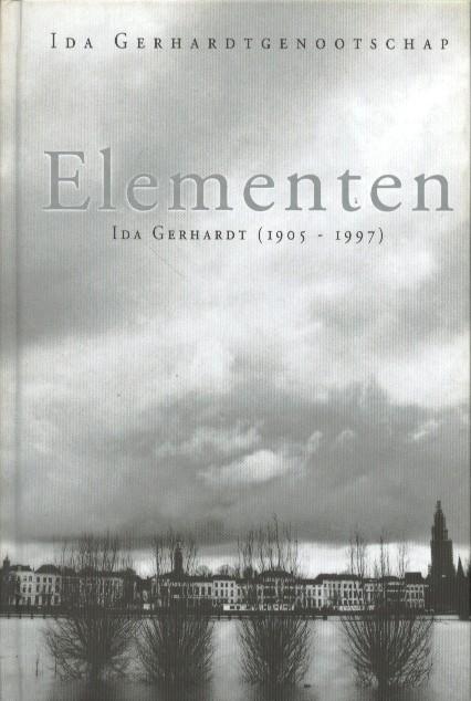 IDA GERHARDTGENOOTSCHAP - Elementen. Ida Gerhardt (1905-1997).
