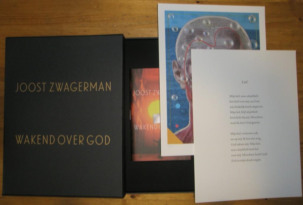 ZWAGERMAN, JOOST - Wakend over God. Gedichten.